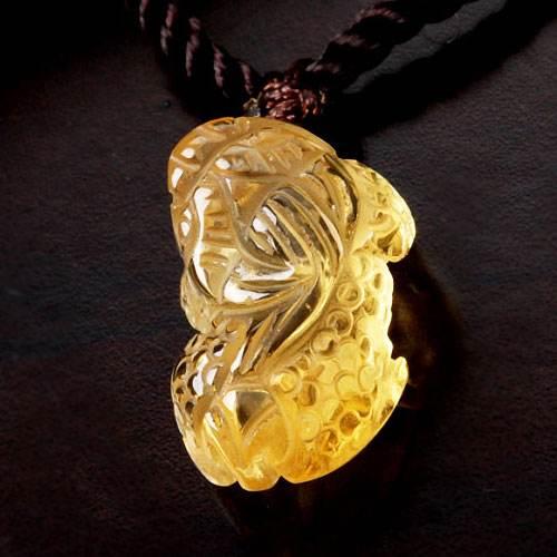 黄水晶貔貅有什么寓意  黄水晶貔貅代表的意义