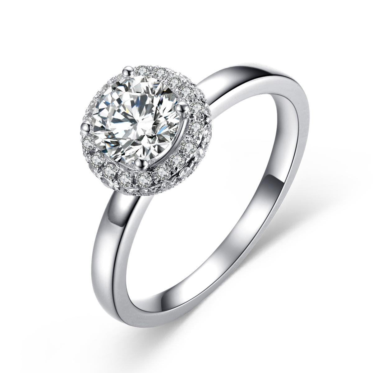选择什么材质的钻石戒托好