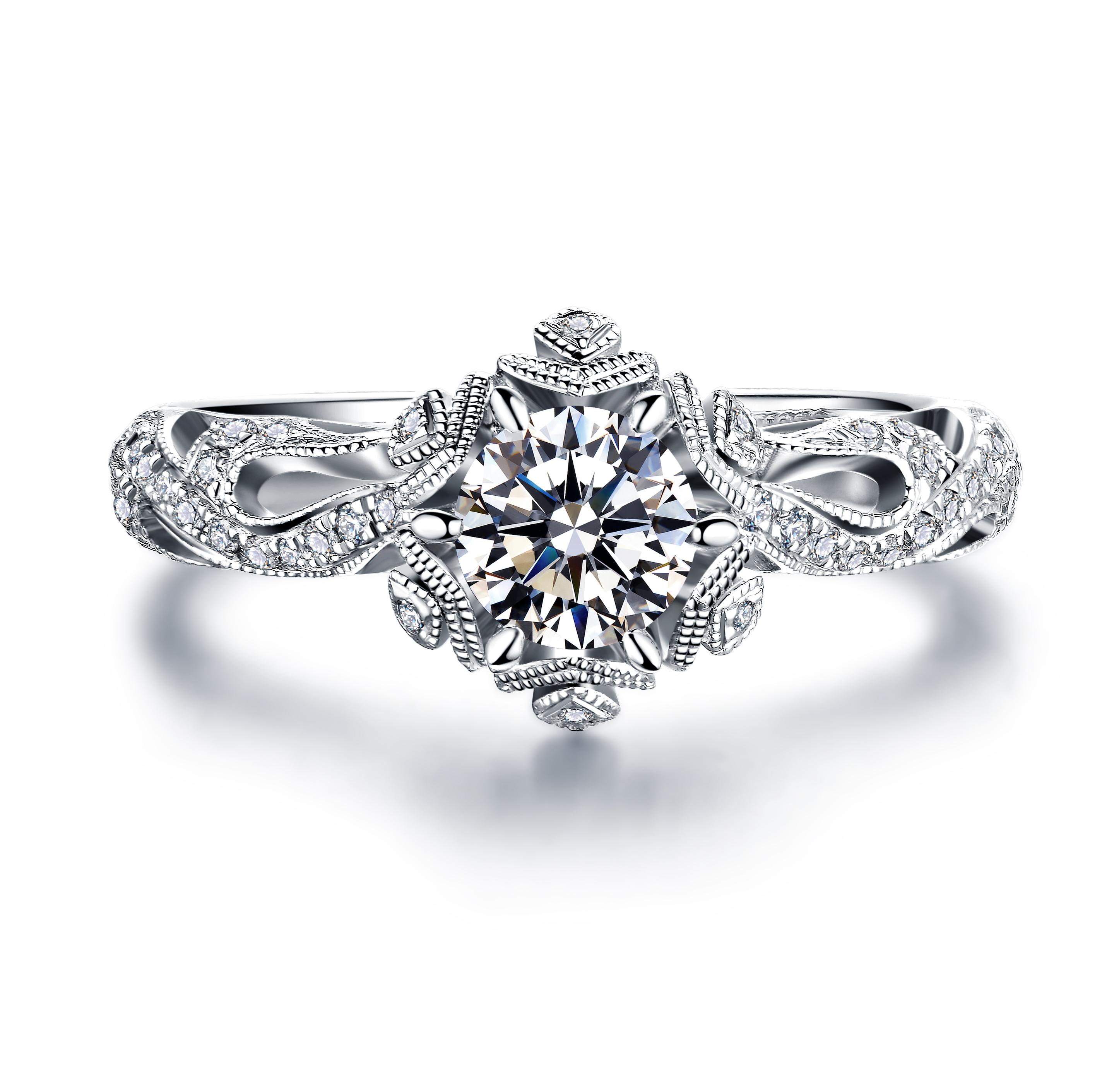 钻石戒指的戒托都有哪些款式