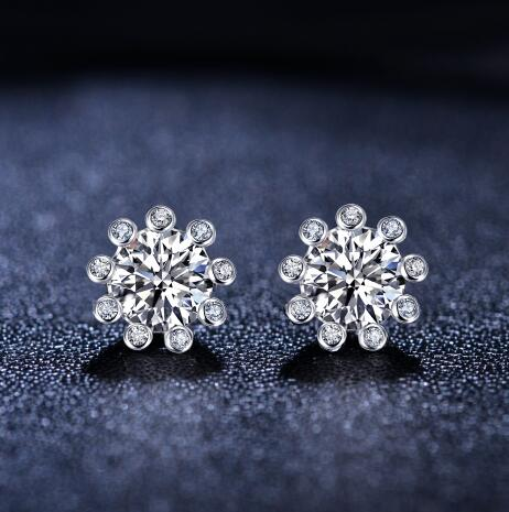 品牌钻石耳钉 钻石耳钉的选购
