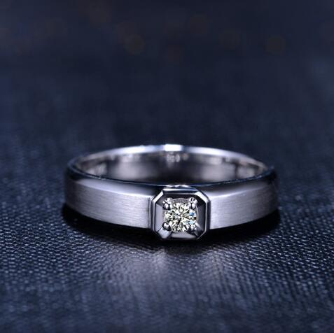 PT900铂金女戒 铂金戒指的选购