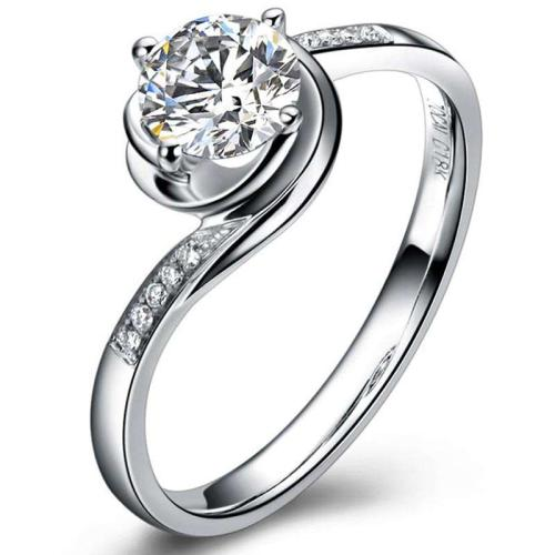 结婚戒指与求婚钻戒佩戴方式的区别