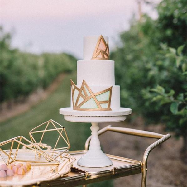2018婚礼蛋糕流行趋势