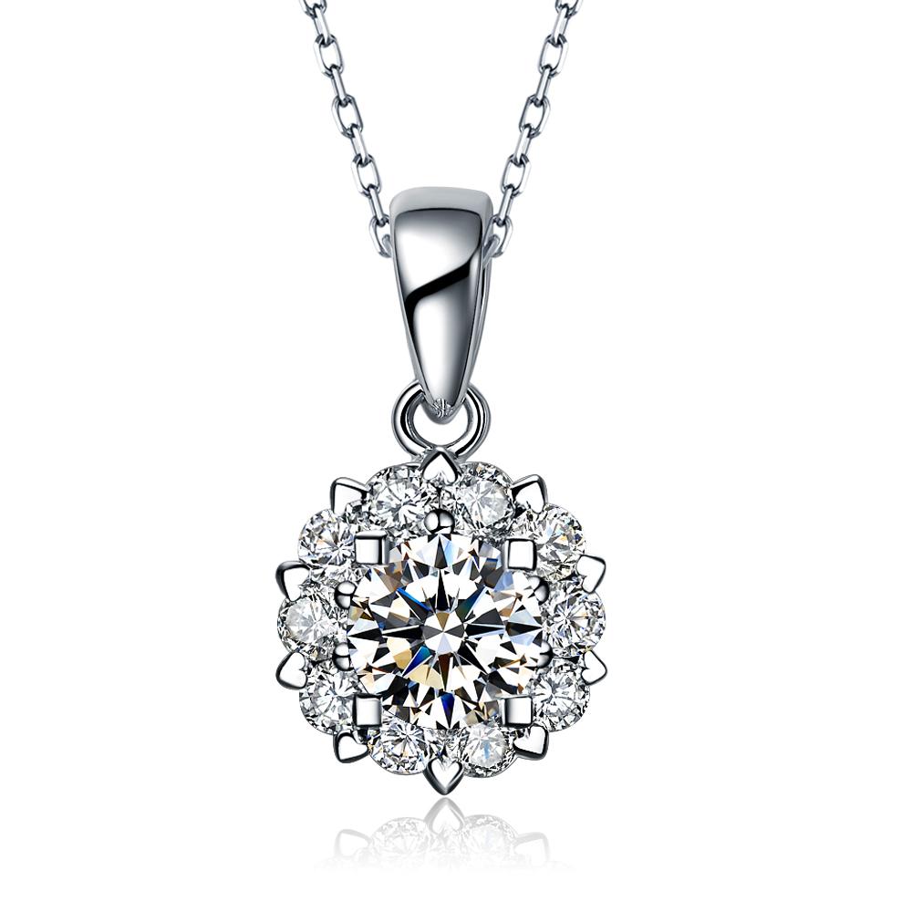 圆形钻石吊坠选择多大的好
