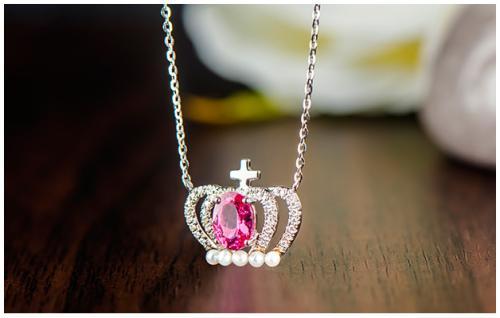 玫瑰金项链款式与购买的技巧