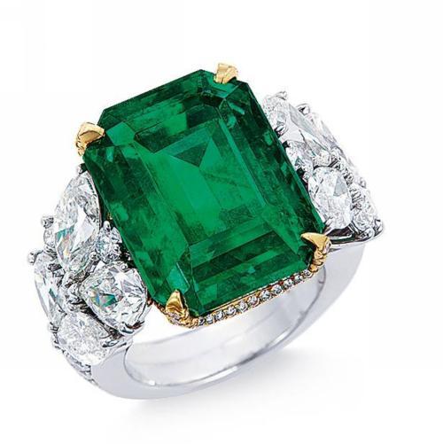 祖母绿宝石戒指多少钱
