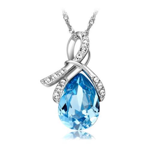 绝美天然蓝宝石吊坠