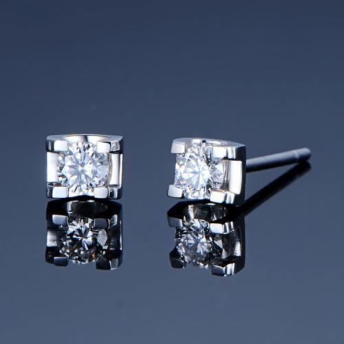 网上买钻石耳钉攻略