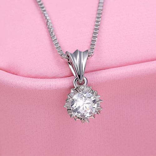 送女朋友钻石项链款式选择