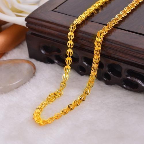 女士黄金项链一般多少克较合适佩戴