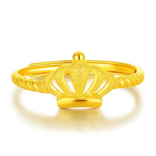 女性戴金戒指一般什么样比较合适