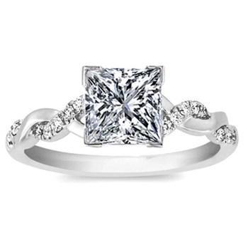 如何挑选公主方形钻石