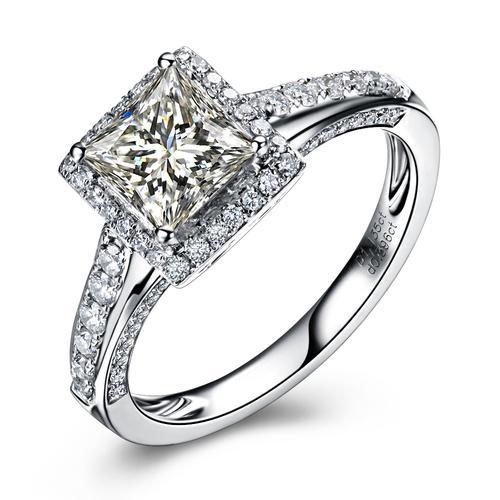 钻石与什么材质的镶嵌金属搭