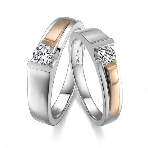 玫瑰金情侣戒指应该如何挑选