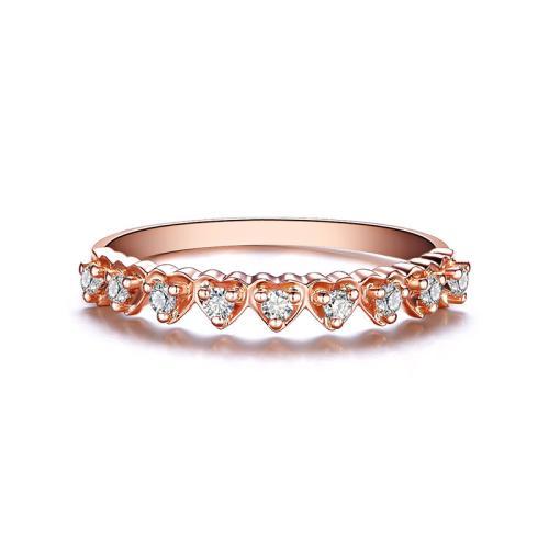 玫瑰金戒指的寓意和价格