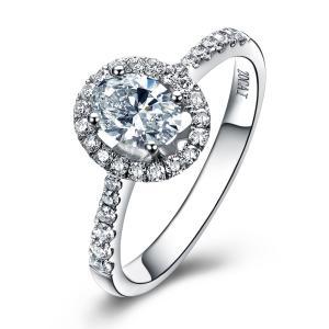 椭圆形钻石的镶嵌都有哪些方法