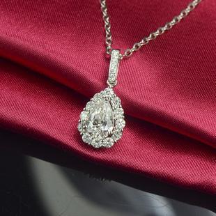 网上选购一克拉钻石吊坠的优势