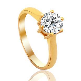 为什么圆形钻石爪镶钻戒如此受欢迎