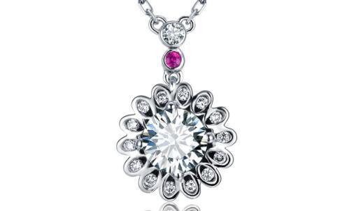 18k金钻石吊坠的价格是多少
