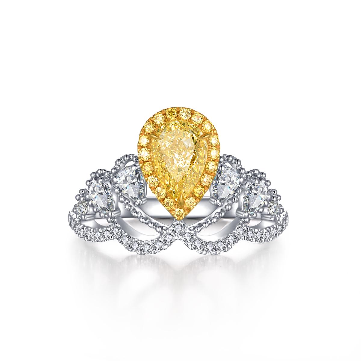 结婚钻戒怎么挑选?结婚钻戒买圆形钻戒好还是异形钻戒好?