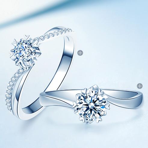 铂金钻戒挑选|选购铂金钻戒的方式