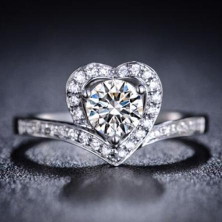 心形钻戒的寓意?心形钻戒价格是多少?