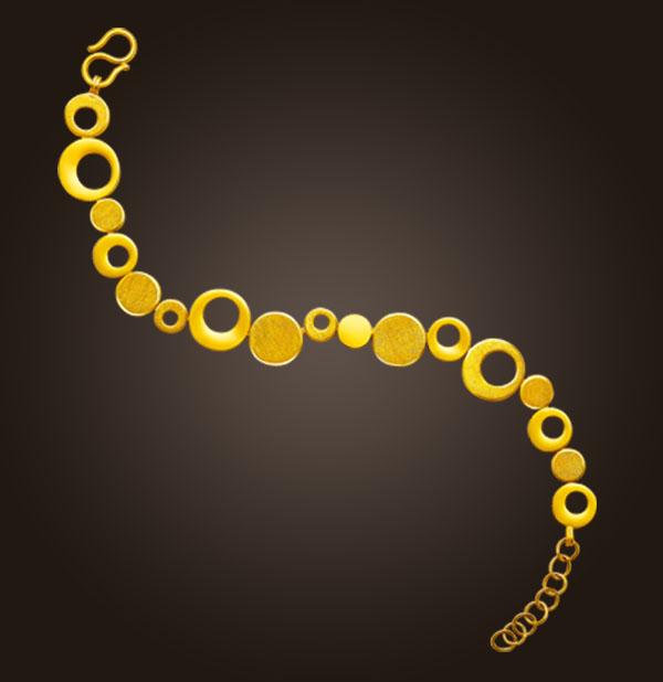 买的黄金手链越戴越大是怎么回事?链子是假的吗?