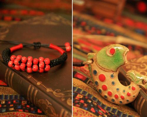 陶瓷首饰 拥有意蕴隽秀的艺术形象(上)