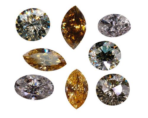 买钻关键看4C 钻石产地什么的是浮云