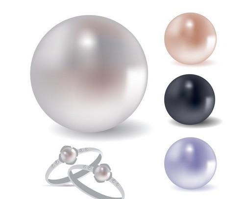珍珠高贵的东方美人一