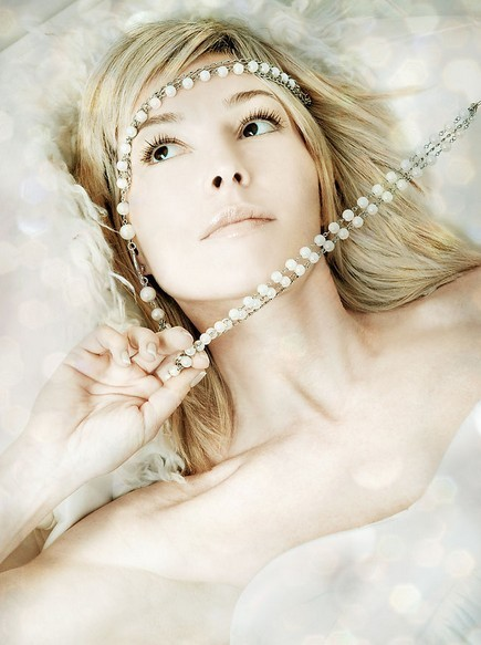 珍珠高贵的东方美人二