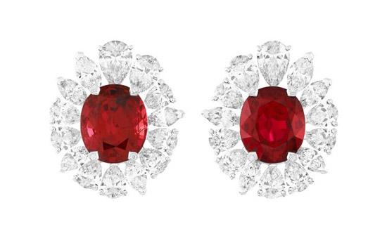 红色珠宝首饰一
