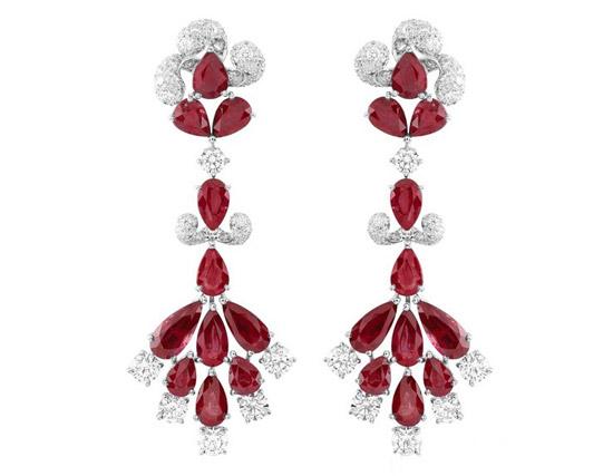 红色珠宝首饰二