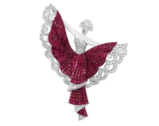 红色珠宝首饰三