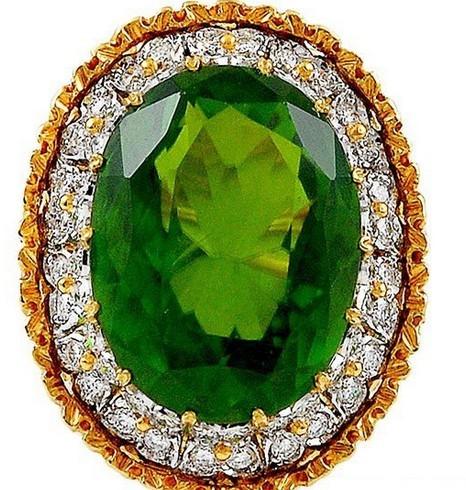 橄榄绿珠宝首饰二