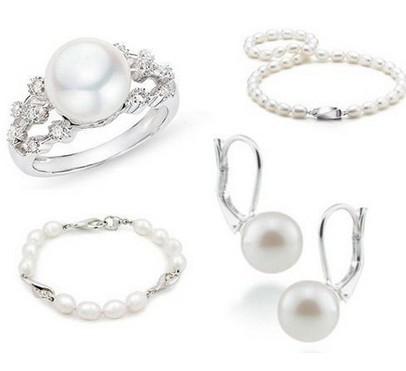 优雅珍珠的时尚佩戴一