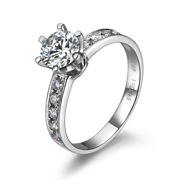 》》点击进入【罗马之恋】 PT950铂金101分/1.01克拉钻石戒指
