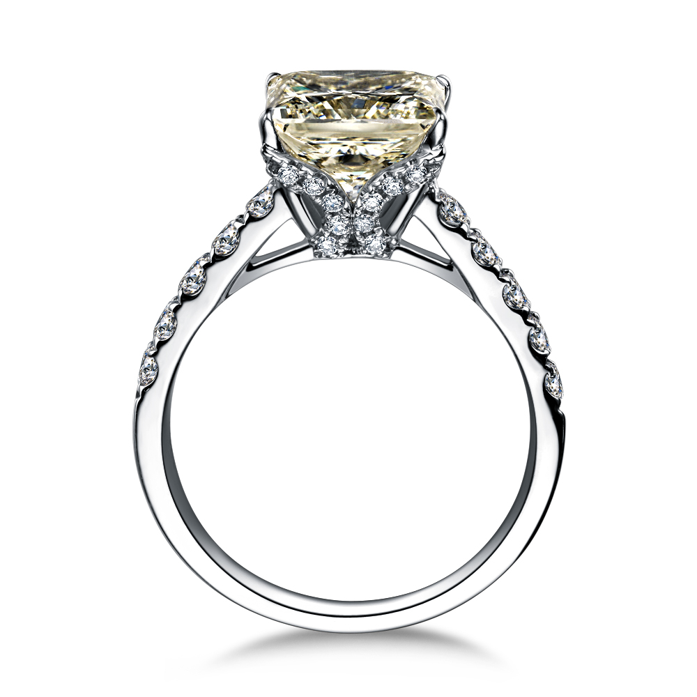 》》点击进入【爱神之语】 白18k金50分/0.5克拉钻石戒指