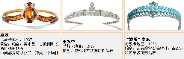 Cartier卡地亚珠宝鉴赏一