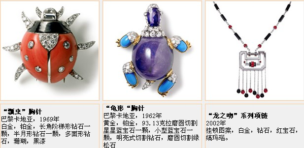 Cartier卡地亚珠宝鉴赏二