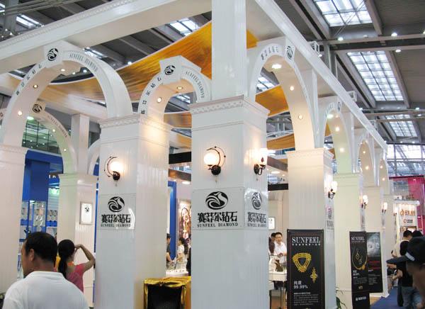 贝珠宝展团亮相7月北京珠宝展一