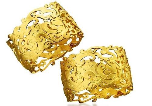 龙凤黄金镯的寓意