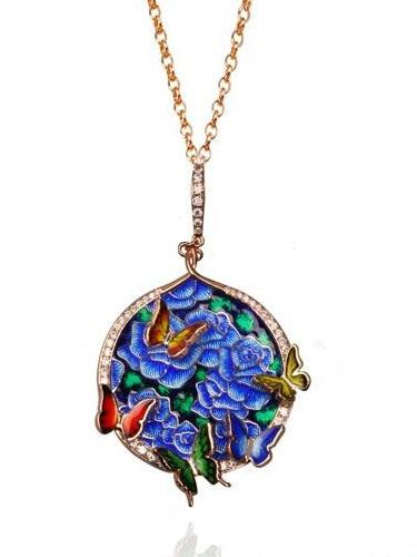 什么是珐琅彩 讲述中国传统珠宝珐琅彩工艺的传承之美 佐卡伊珠宝之家