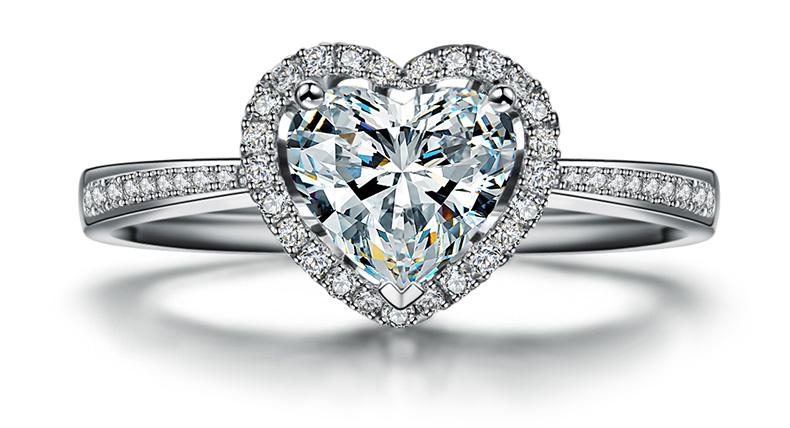 结婚戒指最新款式图片