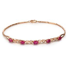 红宝石手链