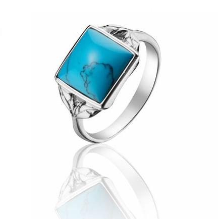 绿松石戒指款式的鉴赏
