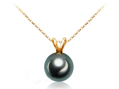 天然黑珍珠