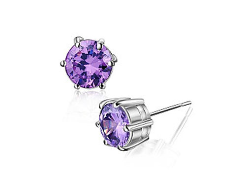 紫水晶耳钉怎么挑选
