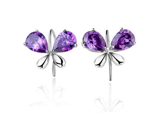 紫水晶耳环怎么挑选