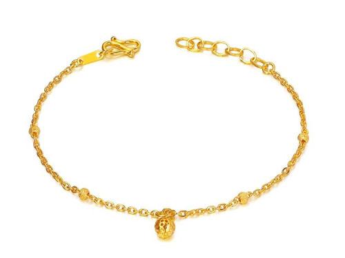 周大福黄金手链